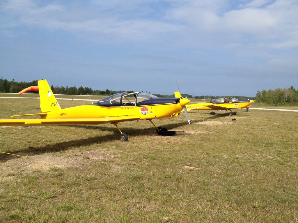 PZQ Aircraft on grass